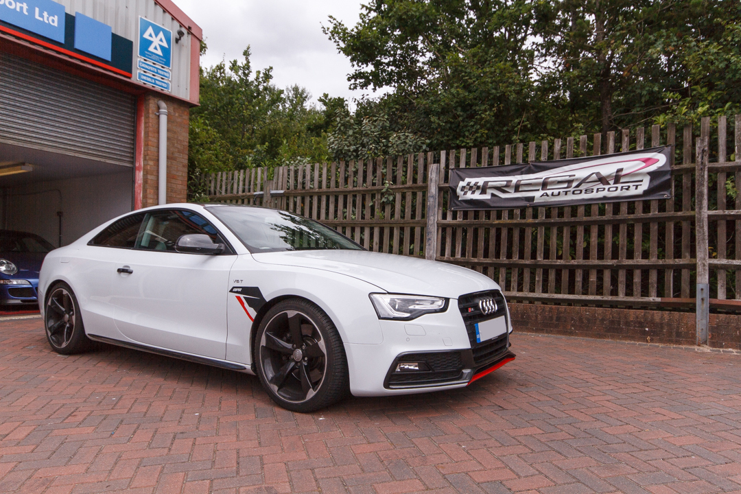 Workshop Install B8 5 S5 Apr Ecu Tcu Awe Exhaust Amp Intake