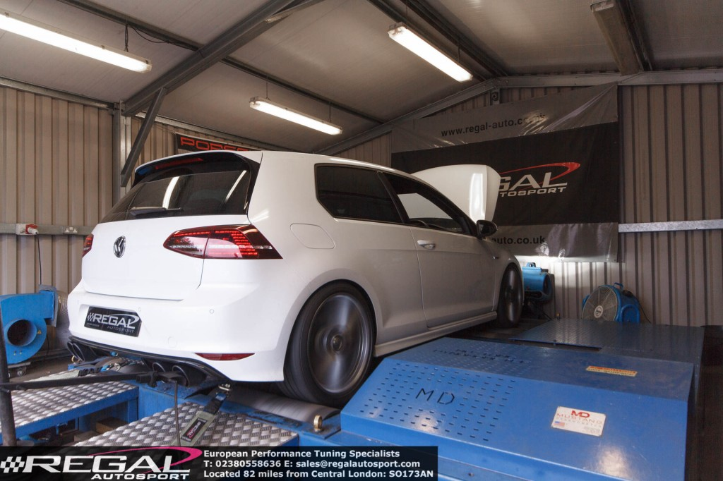 Workshop Install Golf 7r With Apr High Output Stage 2