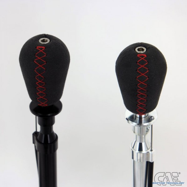 CAE Alcantara Gear Knob with Red Stitching