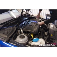 'BLACK' Large Bore Intake Hose for MQB 2.0TFSI Engines (Golf MK7 GTI, MK7 R, 8v S3, Octavia VRS, Seat Leon Cupra)