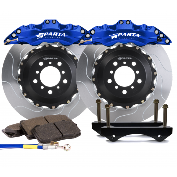 Sparta Evo Front BBK for 135i E8x - Triton Caliper and 355x32x52 2-piece