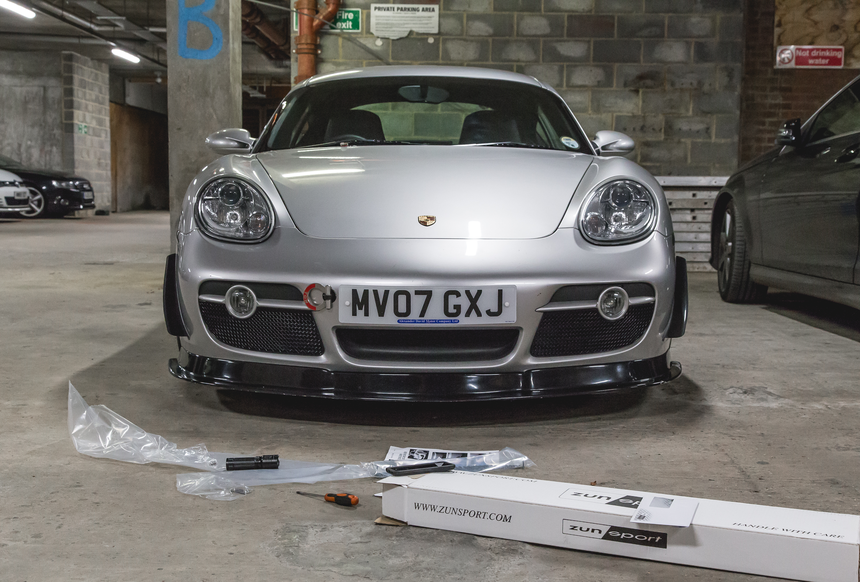 Customer Cayman S 987 Project Tyres Track Day Regal Autosport