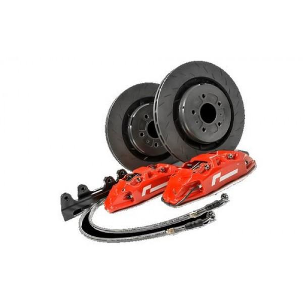Racingline Brake Caliper and Disc Upgrade MQB Platform 345mm 4 Pot - Red