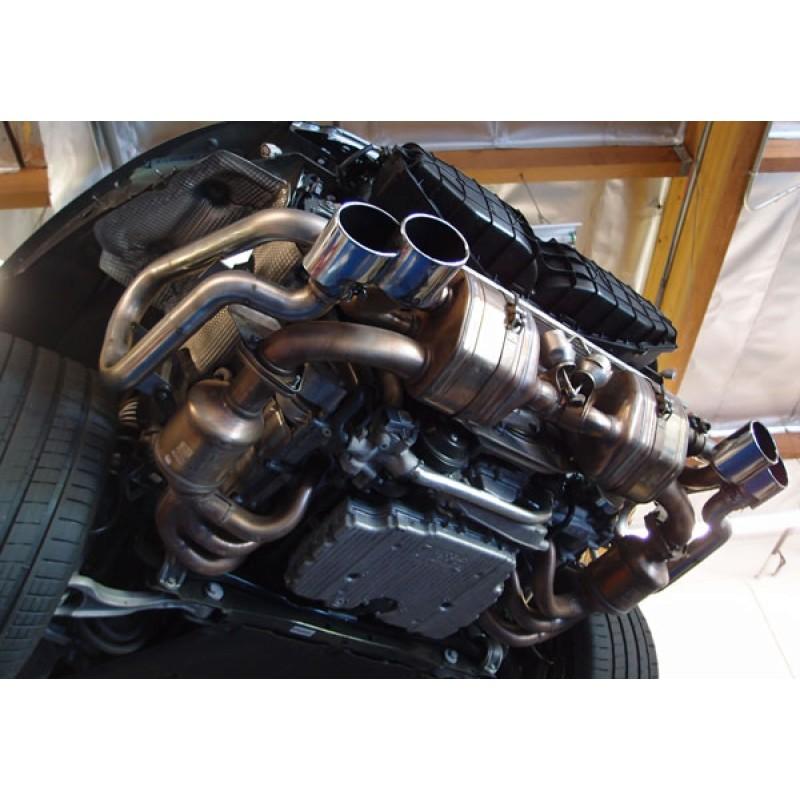 SharkWerks 991 Carrera / S Race Exhaust (LOUD!)