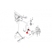 Verkline Rear sway bar adjustable end links Audi 8J TT TTS TTRS RS3 S3 A3 8P Golf Mk5 Mk6 Scirocco