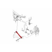 Verkline Adjustable rear toe links metal rod ends Audi TT TTS TTRS 8J 8S RS3 S3 A3 8P 8V 8FL Golf Mk5 Mk6 Mk7 Scirocco