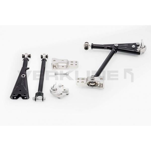 Verkline Adjustable tubular front race wishbones Audi TT TTS TTRS 8J RS3 S3 A3 8P VW Golf Mk5 Mk6 Sirocoo Seat Leon