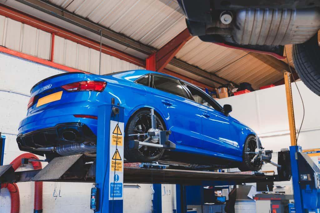 Audi RS3 Saloon Geometry setup